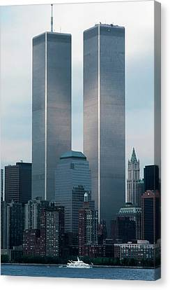 World Trade Center Canvas Print by KG Thienemann