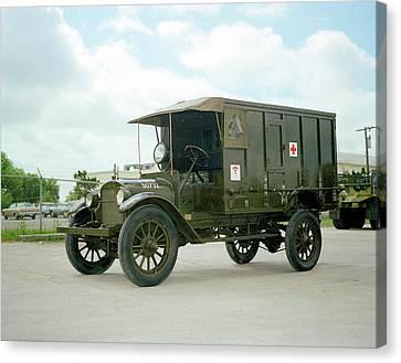 World War I Field Ambulance Canvas Print by Us Army