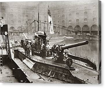 World War I Surrender Canvas Print by Granger