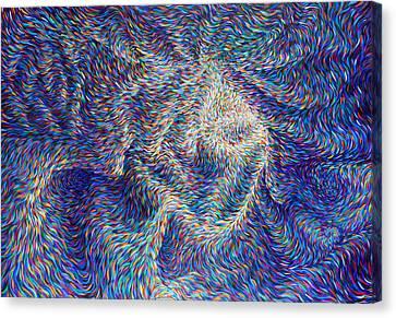 Wormhole Canvas Print by Josh Long