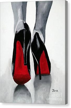 Worth A Million Canvas Print by Rebecca Jenkins