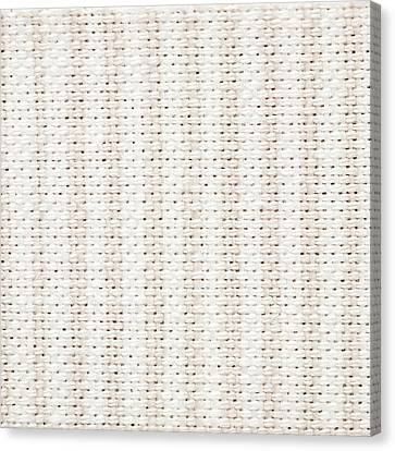 Woven Fabric Canvas Print by Tom Gowanlock
