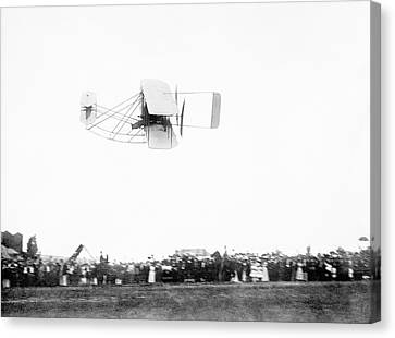 Wright Model A Airplane Canvas Print by Library Of Congress