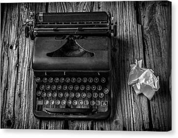 Write Me Canvas Print by Garry Gay