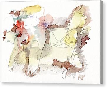 W.t. Canvas Print by Reiner Poser
