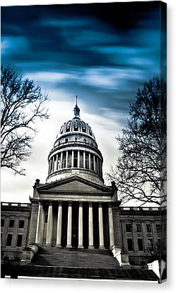 Wv State Capitol Building Canvas Print by Shane Holsclaw