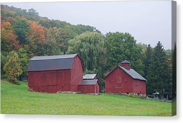 Wyoming County Barn  7d07735 Canvas Print by Guy Whiteley