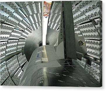 X-37b Orbital Test Vehicle Canvas Print by Science Source