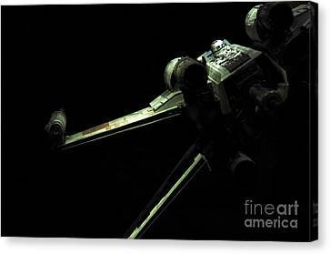 X-wing Fighter Canvas Print by Micah May