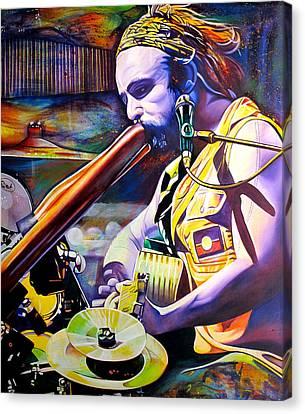 Xavier Rudd Canvas Print by Joshua Morton