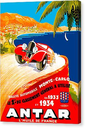 Monte Carlo Canvas Print by Unknown