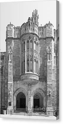 Yale University Sterling Law Building Canvas Print by University Icons