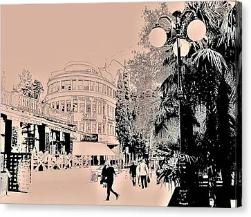 Yalta Streets  Canvas Print by Rick Todaro