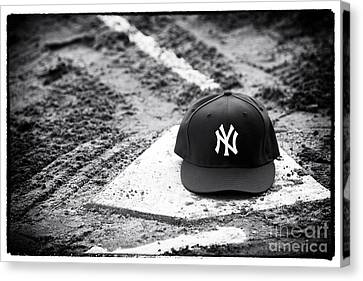 Yankee Home Canvas Print by John Rizzuto