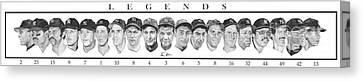 Yankees Canvas Print by Tamir Barkan