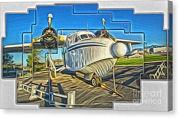 Yanks Air Museum Canvas Print by Gregory Dyer
