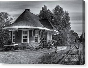 Yarmouth Grand Trunk Railroad Station II Canvas Print by Clarence Holmes