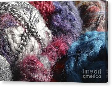 Yarn #2 Canvas Print by Jacqueline Athmann