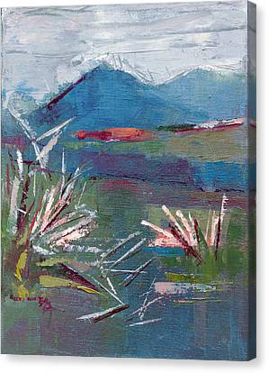 Yasan 2 Canvas Print by Becky Kim