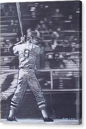 Yaz - Carl Yastrzemski Canvas Print by Sean Connolly