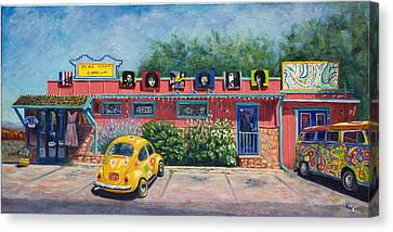 Ye Ole Hippie Emporium Canvas Print by Patty Kay Hall