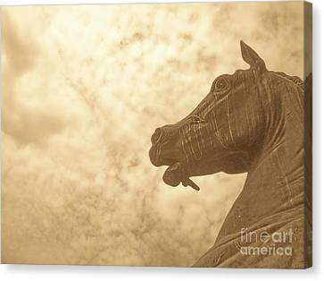 Year Of The Horse Canvas Print by Kristine Nora