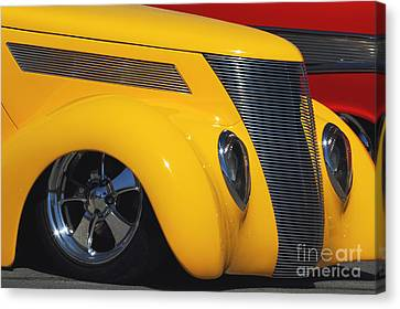 Yellow '37 Canvas Print by Dennis Hedberg