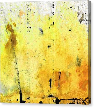 Yellow Abstract Art - Lemon Haze - By Sharon Cummings Canvas Print by Sharon Cummings