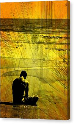 Yellowpeace Canvas Print by Julian Bralley