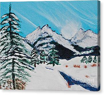 Yellowstone Dream Canvas Print by Lloyd Alexander