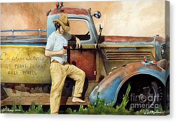 Yesterdays Wine... Canvas Print by Will Bullas