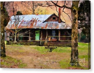 Yesteryear Canvas Print by Betty LaRue