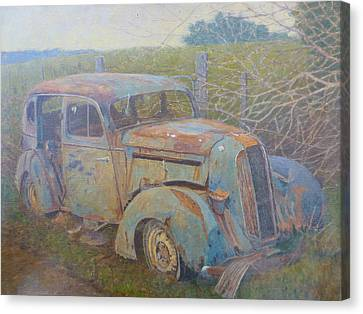 Yesteryear Catlins 1980s Canvas Print by Terry Perham