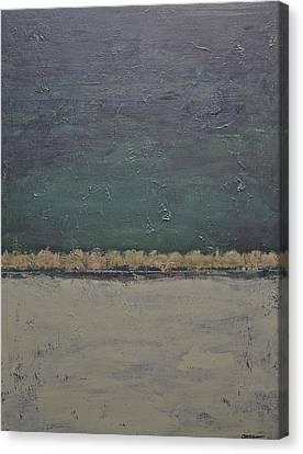 Yonder Creek Canvas Print by Jim Ellis