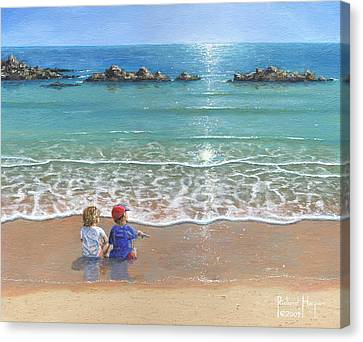 You And Me Canvas Print by Richard Harpum