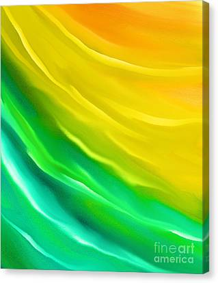You Are My Sunshine Canvas Print by Hilda Lechuga