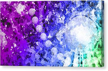 You Know Me 3 Canvas Print by Angelina Vick
