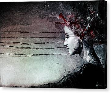 You Promised Me A Symphony Canvas Print by Mario Sanchez Nevado