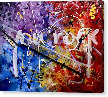 You Rock Canvas Print by Kume Bryant