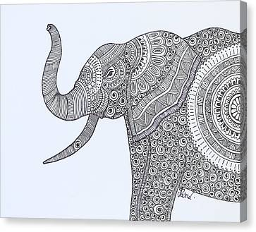 Young Elephant Canvas Print by Parul Juthani