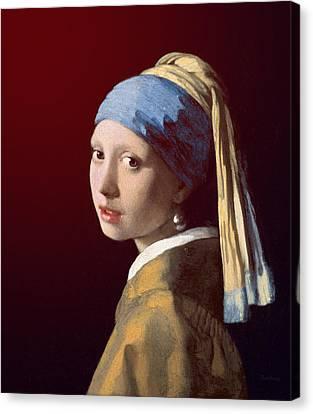Young Lady Canvas Print by David Bridburg