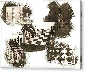 Your Move Canvas Print by Caitlyn  Grasso