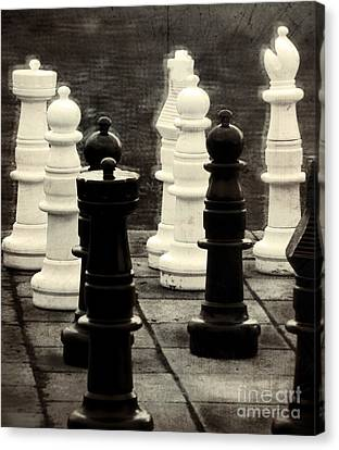 Your Move Canvas Print by Colleen Kammerer