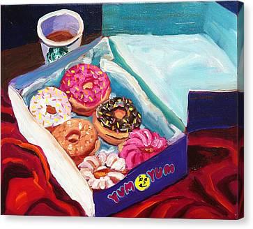 Yum Yum Donuts Canvas Print by Sean Boyce