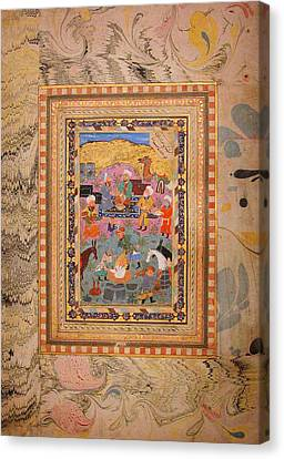 Yusuf Freed From The Well Canvas Print by Celestial Images