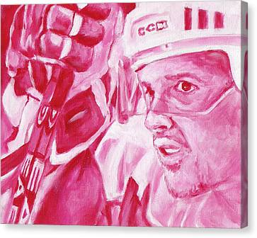 Yzerman Canvas Print by Paul Smutylo