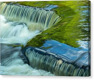 Little Falls Canvas Print by Jeffrey Ewig