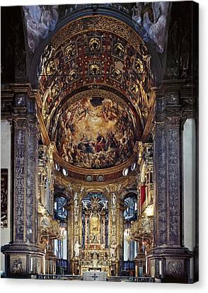 Zaccagni Giovan Francesco, Church Canvas Print by Everett