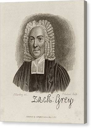 Zacharey Grey Canvas Print by Middle Temple Library