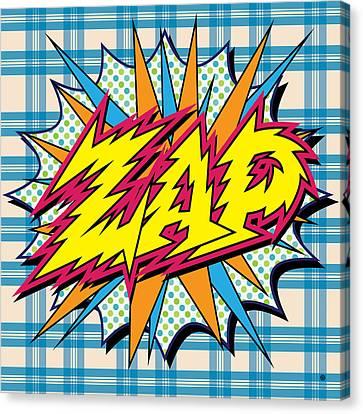 Zap Canvas Print by Gary Grayson